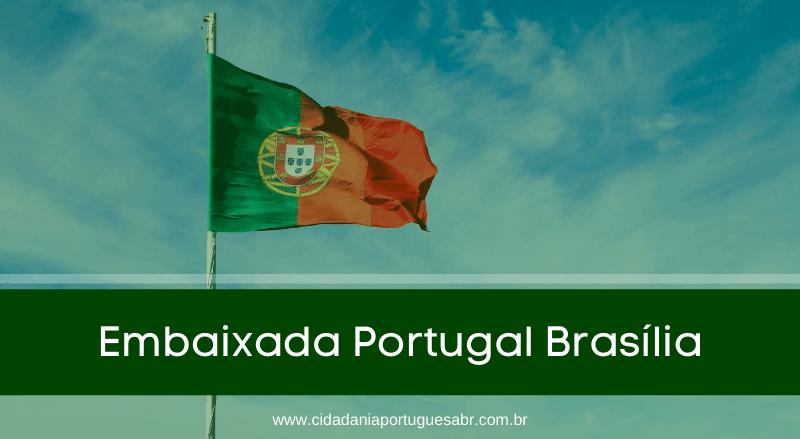 embaixada portugal brasilia